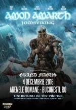 Concert Amon Amarth la Arenele Romane din Bucureşti
