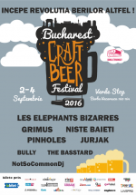Bucharest Craft Beer Festival 2016