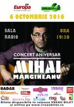 Concert aniversar Mihai Mărgineanu la Sala Radio din Bucureşti