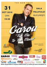 Concert Garou la Sala Palatului din Bucureşti