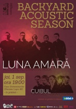 Concert Luna Amară şi Cuibul la Casa Universitarilor din Bucureşti
