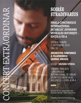 Concert Soiree Stradivarius la Ateneul Român din Bucureşti