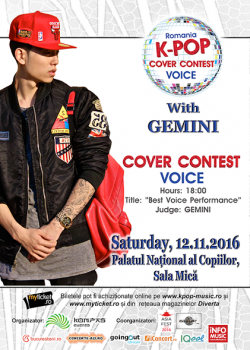Romania K-Pop Cover Contest Voice 2016