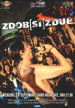 Concert Zdob şi Zdub la Hard Rock Cafe din Bucureşti