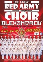 Concert Corul Alexandrov – Red Army Choir la Casa de Cultură a Sindicatelor din Constanţa