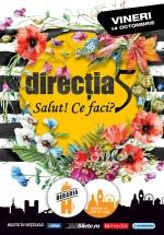 """Concert Direcţia 5 – """"Salut! Ce faci?"""" la Berăria H din Bucureşti"""