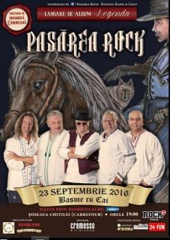Concert Pasărea Rock la arena Basme cu Cai din Bucureşti