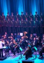 FOTO: Corul Alexandrov – Red Army Choir la Sala Palatului din Bucureşti