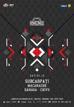 2 ani de SONOR cu Subcarpaţi, Macanache şi Danaga în Club Quantic din Bucureşti