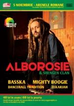 Concert Alborosie la Arenele Romane din Bucureşti (CONCURS)