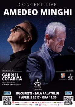 Concert Amedeo Minghi la Sala Palatului din Bucureşti – ANULAT