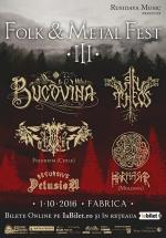 Folk & Metal Fest III în Club Fabrica din Bucureşti
