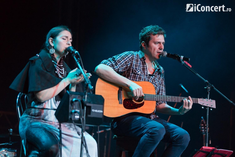 Dan Byron şi Luiza Zan, în concert în deschiderea show-ului Hindi Zahra - Foto: Daniel Robert Dinu / iConcert.ro