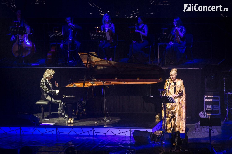 HAVASI, alături de Lisa Gerrard, în concert la Sala Palatului din Bucureşti - Foto: Daniel Robert Dinu / iConcert.ro