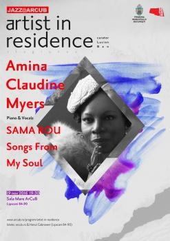 Concert Amina Claudine Myers la Hanul Gabroveni din Bucureşti