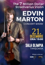 Concert Edvin Marton la Sala Olimpia din Timişoara