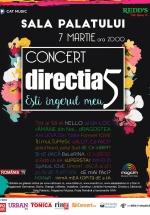 """Concert Direcţia 5 – """"Eşti îngerul meu"""" la Sala Palatului din Bucureşti"""