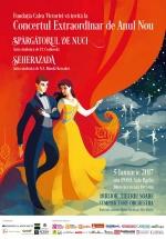 Concert Extraordinar de Anul Nou 2017 la Sala Radio din Bucureşti