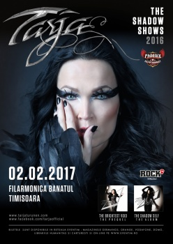 Concert Tarja Turunen la Filarmonica Banatul din Timişoara