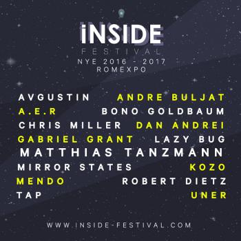 iNSIDE Festival – Revelion 2017 la Romexpo din Bucureşti