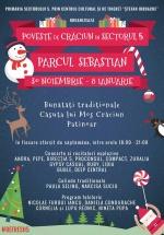 Poveste de Crăciun în Parcul Sebastian din Bucureşti