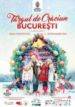Târgul de Crăciun Bucureşti 2016 în Piaţa Constituţiei