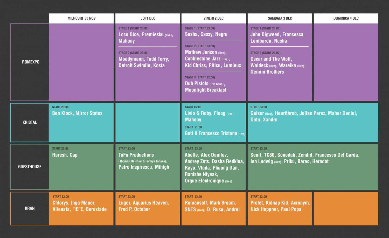 Programul concertelor UR.BASM Festival 2016