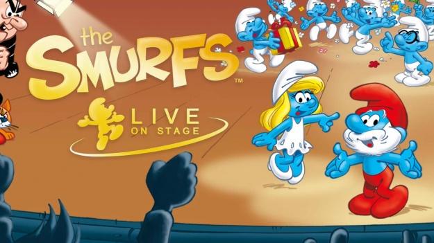 """Spectacolul """"The SMURFS, Live On Stage"""", în premieră în România, în februarie 2017"""