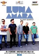 Concert Luna Amară & Light Quartet în Hard Rock Cafe din Bucureşti