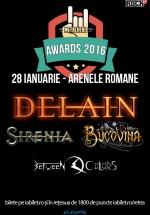 METALHEAD Awards 2016 la Arenele Romane din Bucureşti