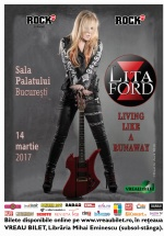 Concert Lita Ford la Sala Palatului din Bucureşti