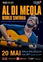 Concert Al Di Meola la Sala Palatului din Bucureşti