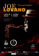 Concert Joe Lovano la Sala Radio din Bucureşti