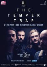 Concert The Temper Trap în Fratelli Studios din Bucureşti