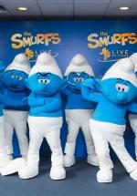 """Show-ul """"Smurfs Live on Stage"""" de la Bucureşti, reprogramat pentru octombrie 2017"""
