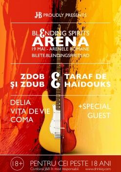 J&B Blending Spirits Arena la Arenele Romane din Bucureşti