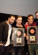 """Damian & Brothers a primit discul de aur pentru albumul """"Gyspy Rock – Change or Die"""""""