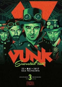 """Concert VUNK – """"Secretul Tău"""" la Sala Polivalentă din Bucureşti"""