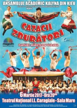 """Turneu naţional """"Cazacii zburători"""" în România"""