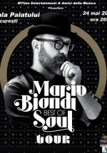 Concert Mario Biondi la Sala Palatului din Bucureşti