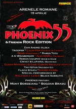 Concert aniversar Phoenix 55 – Rock Edition la Arenele Romane din Bucureşti