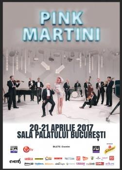 Concert Pink Martini la Sala Palatului din Bucureşti