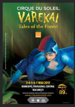 Cirque du Soleil – Varekai la Romexpo din Bucureşti