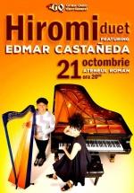 Concert Hiromi feat. Edmar Castañeda la Ateneul Român din Bucureşti