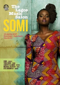 Concert Somi la Sala Radio din Bucureşti