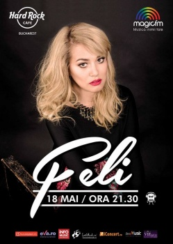 Concert Feli la Hard Rock Cafe din Bucureşti
