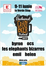 Bucharest Craft Beer Festival 2017