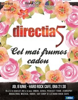 Concert Direcţia 5 la Hard Rock Cafe din Bucureşti