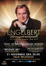 Concert Engelbert Humperdinck la Sala Palatului din Bucureşti