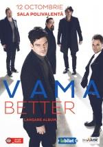 Concert VAMA – lansare de album, la Sala Polivalentă din Bucureşti